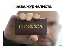 удостоверение журналиста